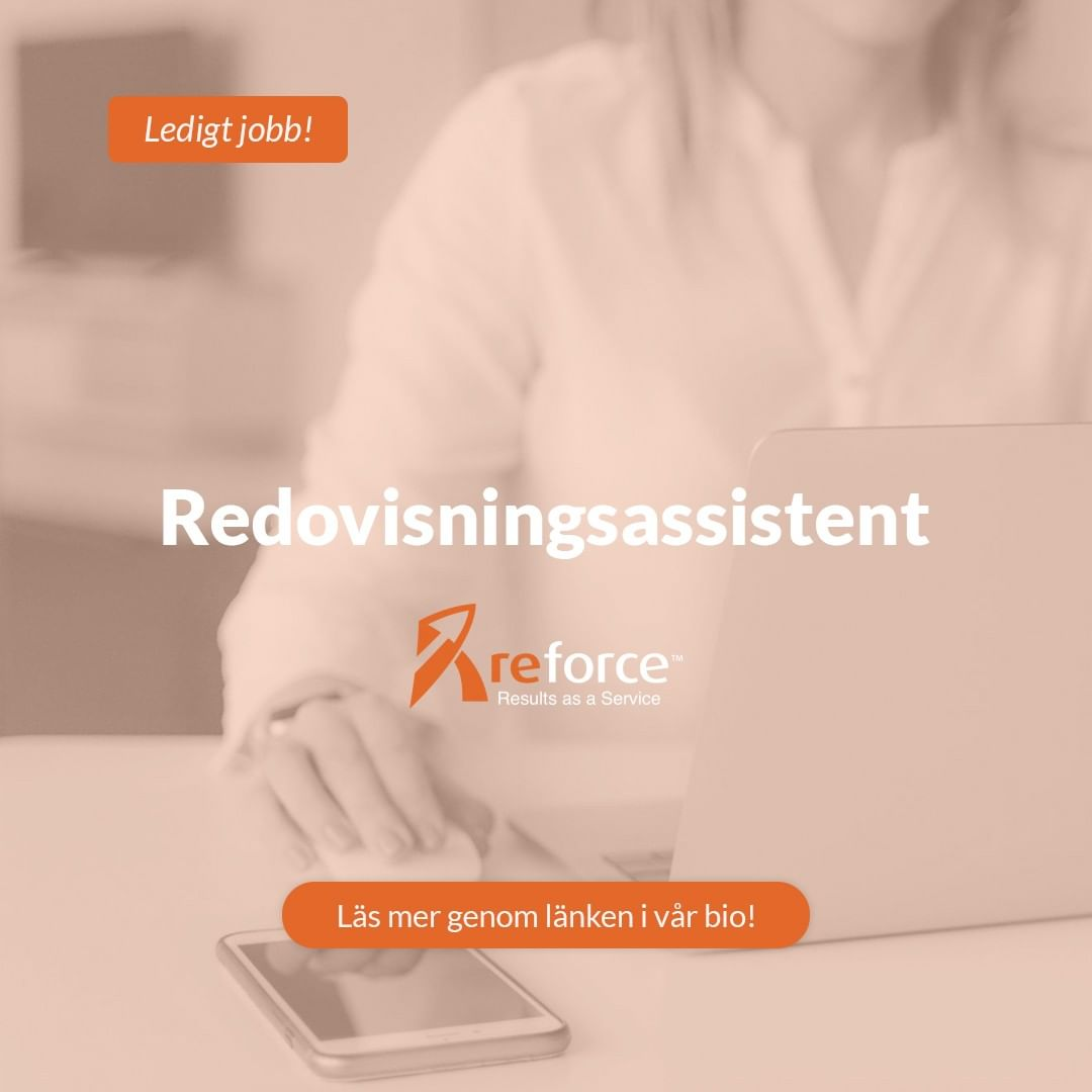 ➡️ The Accounting Assistant is a full-time position responsible for performing routine accounting duties, preparing accurate reports, following appropriate procedures to ensure timely and accurate preparation of financial data. Are you ready for new challenges and new opportunities? . . . #ledigtjobb #jobb #karriär #redovisning #redovisningsassistent #reforce #kraftsam #rekrytering #bemanning #stockholm #jobbstockholm #jobbistockholm #stockholmjobb #nyttjobb #ledigajobb #lediga