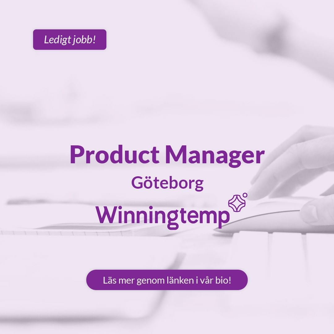 ➡️ We are looking for a rock-star Product Marketing Manager that will have a critical role in fueling the growth of the company. You will work closely with many functions such as Marketing, Product, Customer Success and Sales to ensure successful delivery of the right content and programs to the right audiences. . . . #product #productmanager #manager #winningtemp #kraftsam #rekrytering #bemanning #ledigtjobb #jobb #karriär #nyttjobb #nytt #görakarriär #framgång #framgångs #market #marketing #customer #försäljning #sälj #säljare